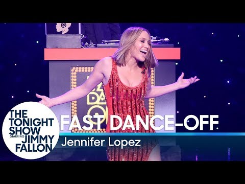 Fast DanceOff with Jennifer Lopez
