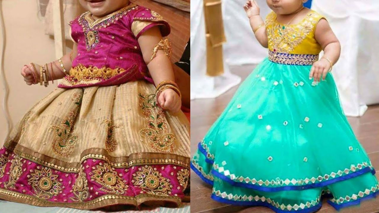 kids party wear traditional dress designs catalogue  baby