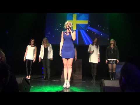 ESCKAZ in Copenhagen: Sanna Nielsen (Sweden) - I'm In Love, Empty Room (in Euroclub)