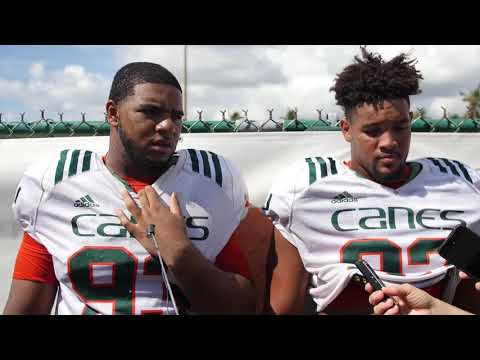 Pat Bethel & Trent Harris | Post Practice Interview | 10.17.17