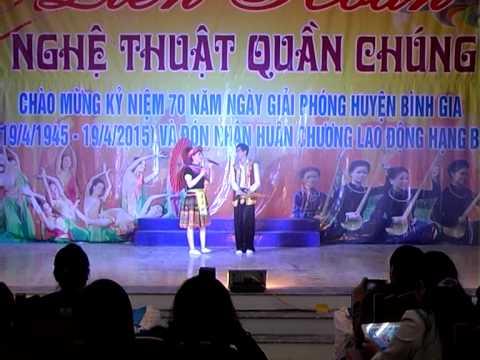 Van nghe quan chung huyen Binh Gia nam 2015 Khoi UBND huyen