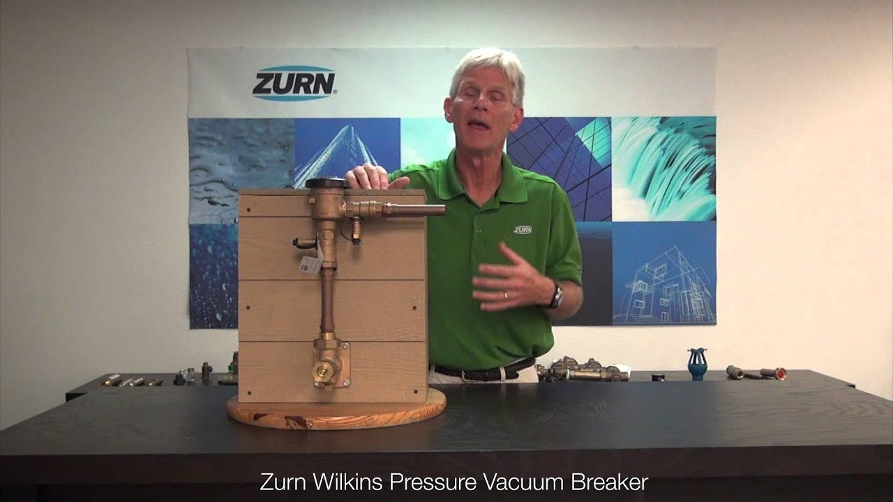 Zurn Wilkins Backflow Prevention Pressure Vacuum Breaker How To Repair Noise Youtube