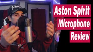 Aston Spirit XLR Condenser Microphone Review/Test (Rap, Singing & Guitar) | 2019