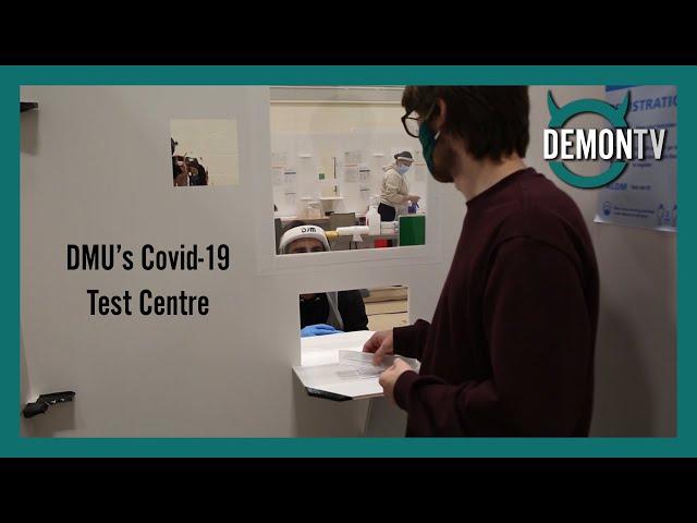 DMU's Covid 19 Test Centre