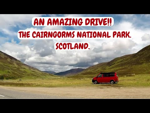 An amazing 'Rollercoaster' Drive through the Cairngorms.