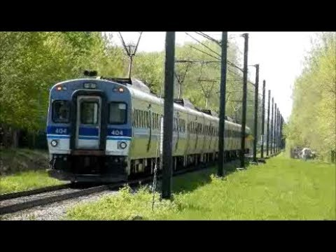 MONTREAL COMMUTER TRAINS IN ACTION - MAY 2018