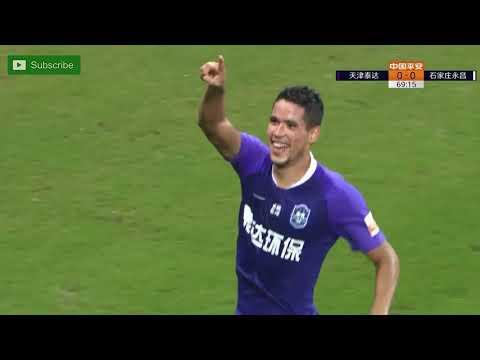 Tianjin Teda [1] - 0 Shijiazhuang Ever Bright - Sandro Lima goal 70'