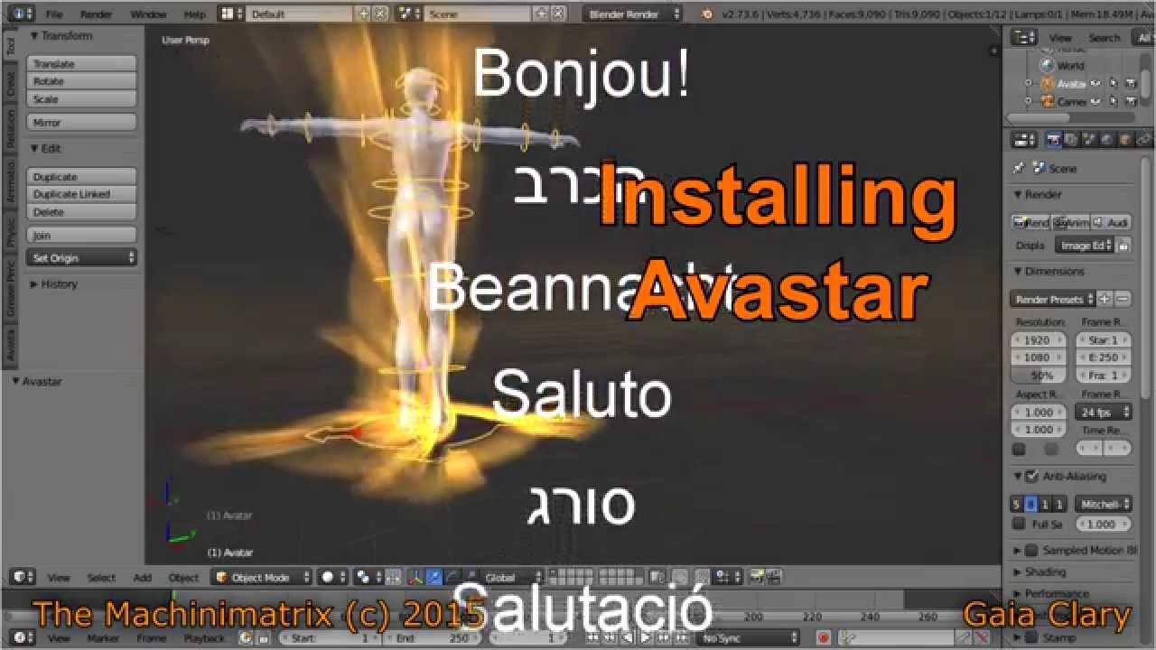 Install Avastar