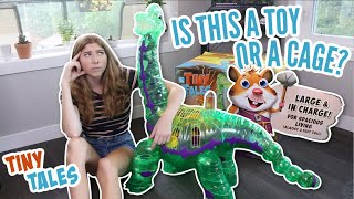 Hamster Cage or Toy? | Tiny Tales XL Dinosaur Cage Review