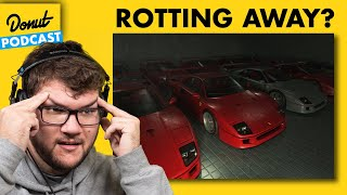 The World's Most Expensive Car Collection Is Rotting Away - Past Gas #63