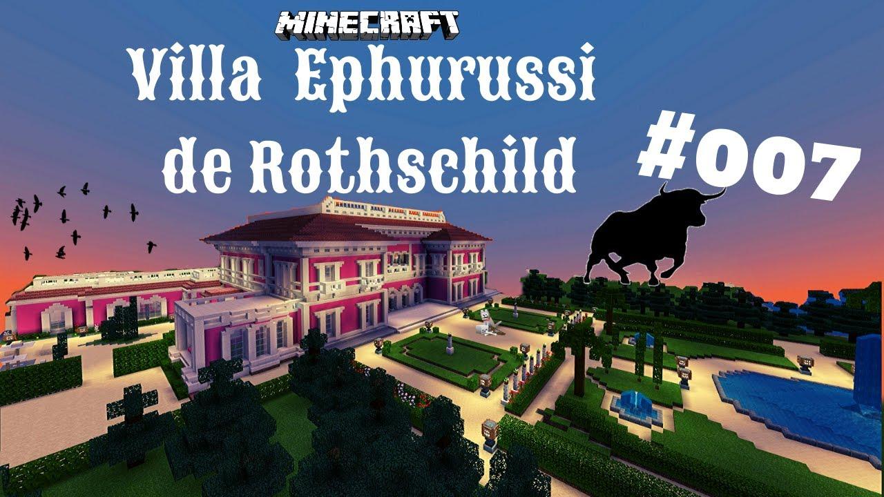 Minecraft Villa Jardins Ephrussi de Rothschild #007   Endlich der ...
