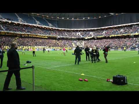 Nisse hyllas på Friends Arena (AIK - Dalkurd 2-0)