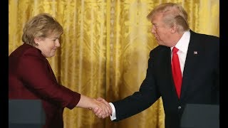 Trump Reaffirms Dedication to NATO During Visit From Norwegian Prime Minister