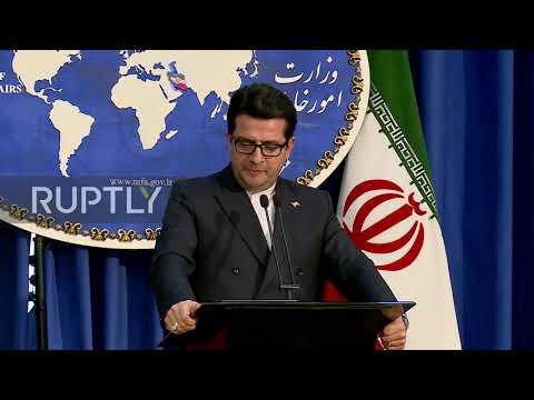Iran: Tehran brands new US sanctions as 'propaganda'