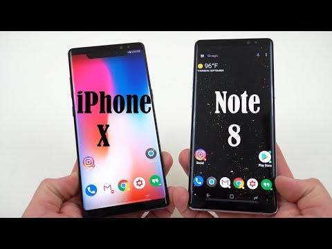How to Convert your Galaxy Note 8 to an iPhone X in 30 Seconds!