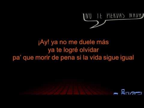 ya no me duele mas - silvestre dangond letra (solo) lyrics