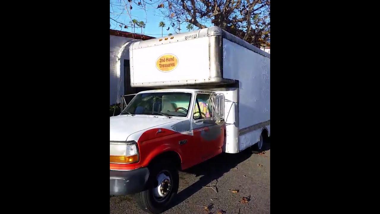 Box Truck Uhaul Camper Off Grid Conversion Project Yahoo