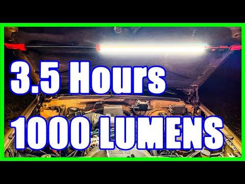 Sunex Underhood LED Light [1,000 Lumens - 3.5 Hours]