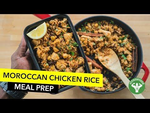 Moroccan Inspired Chicken & Rice / Arroz con Pollo al Estilo Marroquí