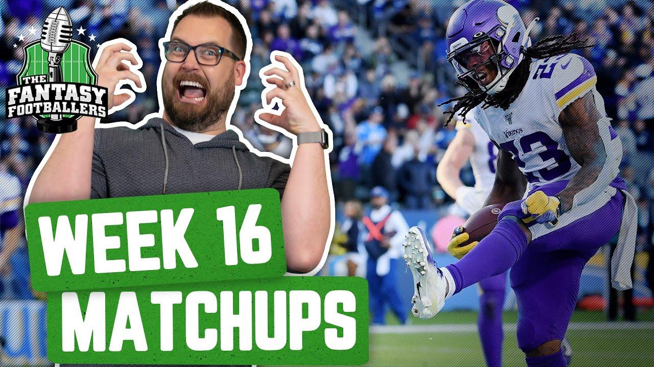 Fantasy Football 2019 - Week 16 Matchups + Injury Concerns, Big Play Big Day - Ep. #842