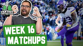 Fantasy Football 2019 - Week 16 Matchups + Injury Concerns, Big Play Big Day - Ep. #842