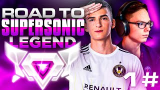 ROAD TO SUPERSONIC LEGEND #1 | ft. Chausette45