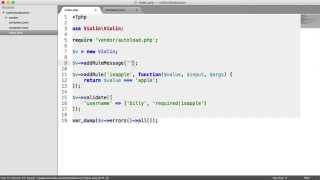 Easy PHP Validation with Violin: Custom Rules (5/6)