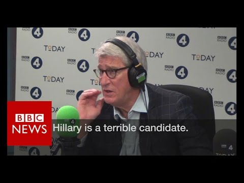 "Hillary Clinton is like ""machine washable Tupperware"" - BBC News"