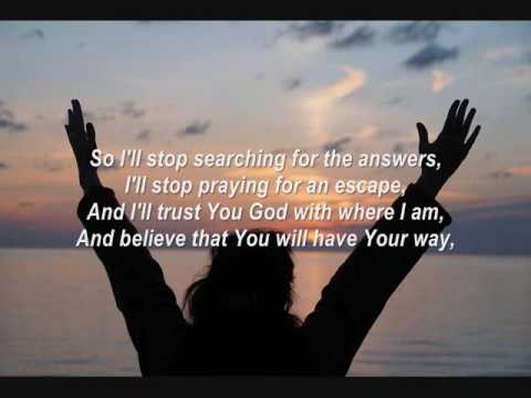 Have Your Way by Britt Nicole (with lyrics)
