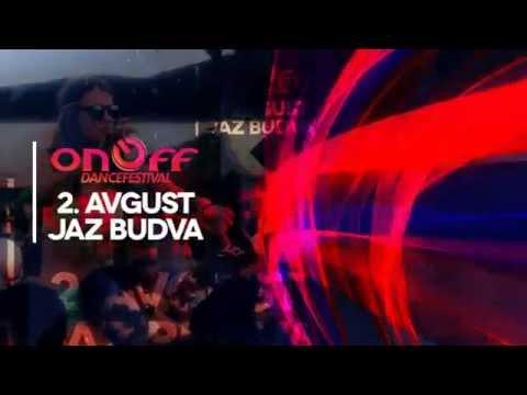 ONOFF Festival najava 2.avgust, plaza JAZ, Budva