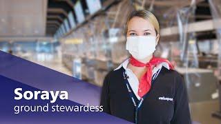 Airport Stars: grondstewardess Soraya