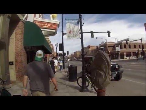 Downtown Bozeman, Montana April 9th, 2016