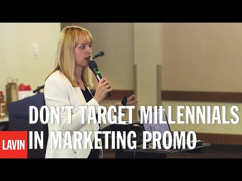Jessica Kriegel: Don't Target Millennials in Marketing Promo