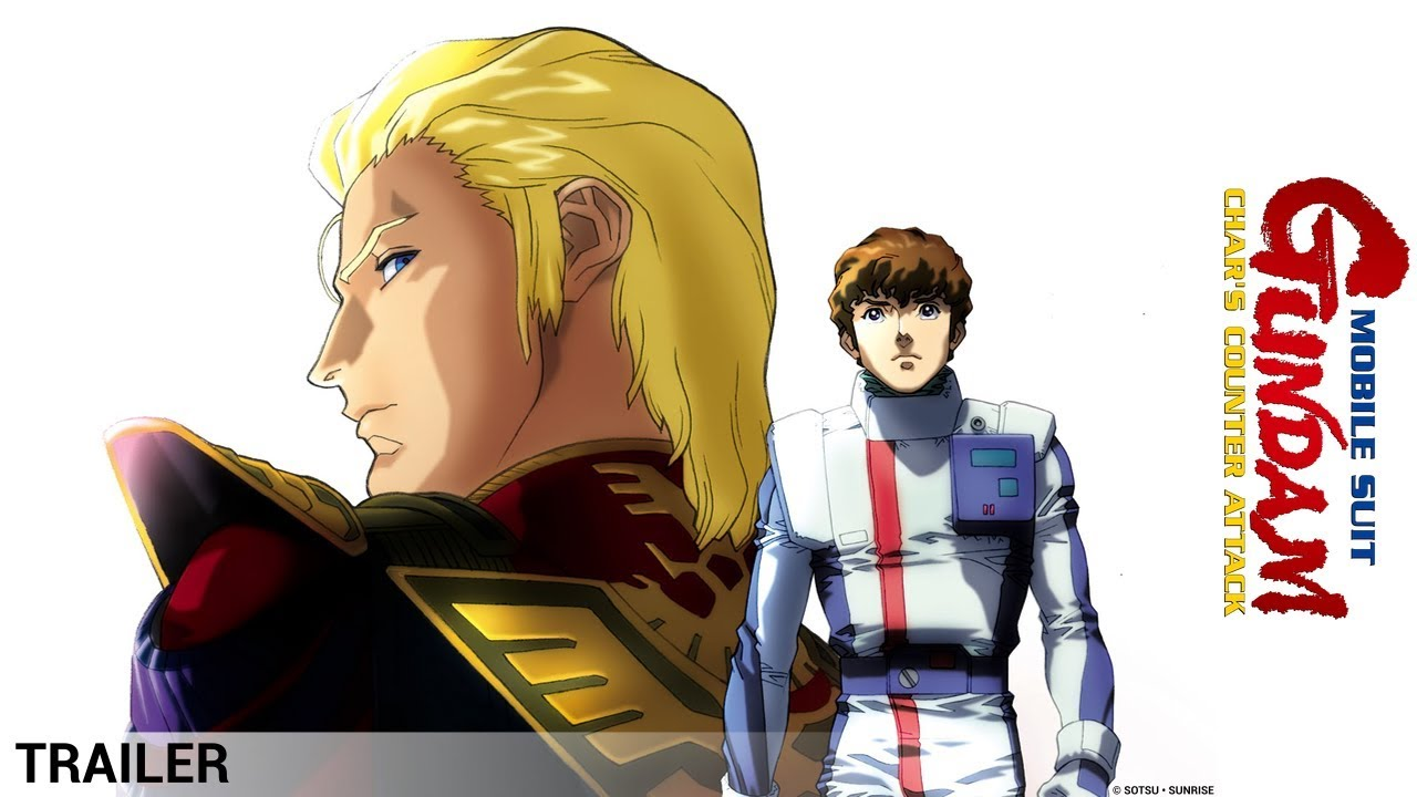 Mobile Suit Gundam Char S Counter Attack Trailer Youtube