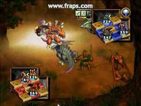 Ogre Battle 64 - Venerable dragon of earth Ahzi - Dahaka by SeuGualda