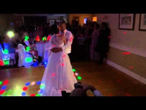 Christina and Dave Wedding first Dance
