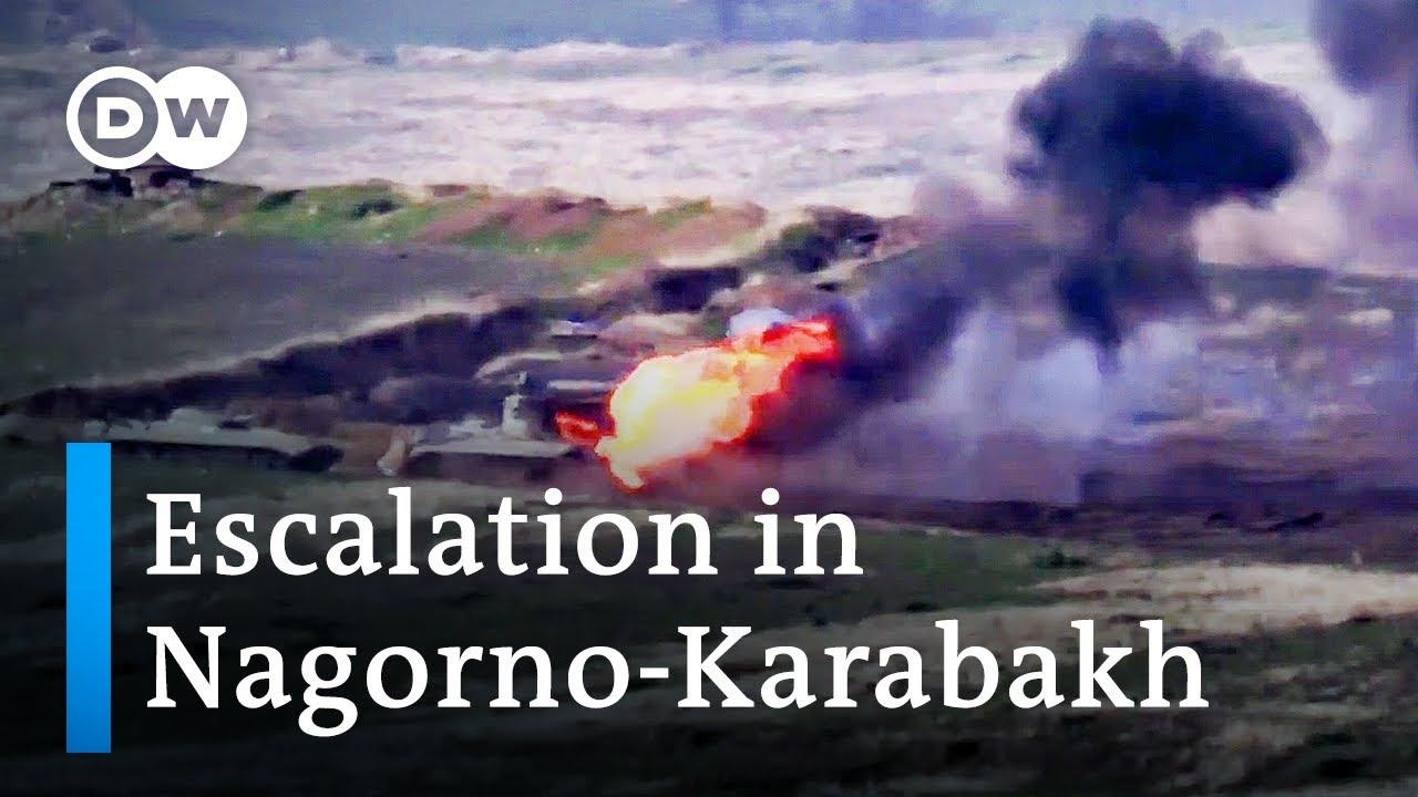 Download Armenia and Azerbaijan clash over disputed Nagorno-Karabakh region | DW News