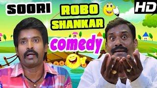 Velainu Vandhutta Vellaikaaran Robo Shankar Comedy | Soori | Vishnu | Ravi Mariya