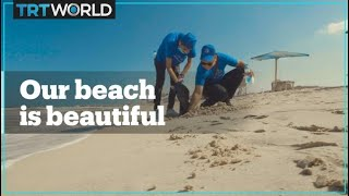 Gaza's Beach Cleaning Campaign