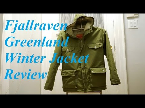 Review Fjallraven Greenland Winter Jacket Youtube