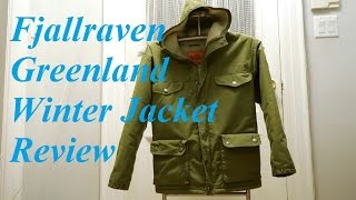 Review: Fjallraven Greenland Winter Jacket