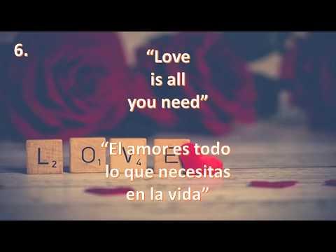 Frases De Amor En Ingles Youtube