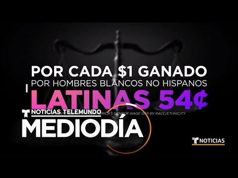 Mujeres latinas reclaman en Washington DC igualdad de salarios