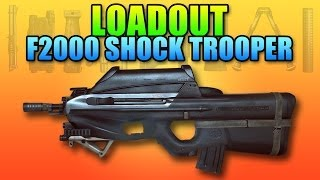 Battlefield 4 Loadout: F2000 Shock Trooper Style