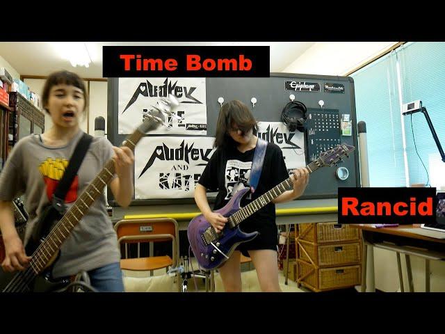 #Rancid - #Time Bomb guitar + bass #cover #ランシッド