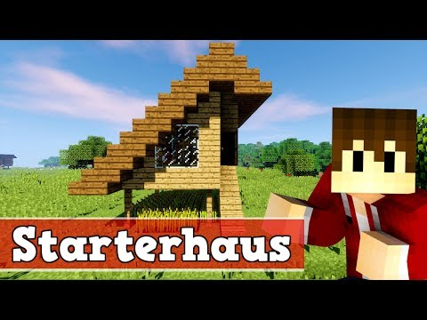 minecraft tutorial kleines haus bauen 1 doovi. Black Bedroom Furniture Sets. Home Design Ideas