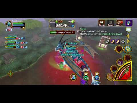 Arcane Legends - Festerfang Deep Full Boss - % 300 Gold Loot