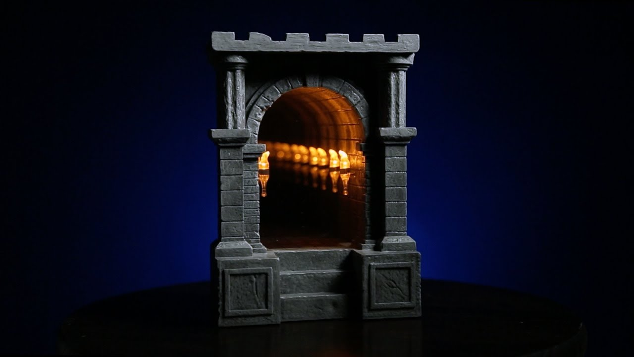 Infinite Dungeon Corridor From Thinkgeek Youtube