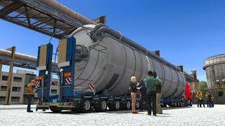 Angkut Muatan 40 Ton Spesial Transport || Euro Truck SImulator 2