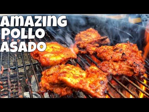 BEST Pollo Asado Recipe | Mexican Bbq Chicken